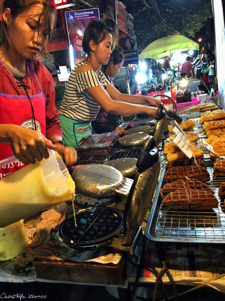 Nachtmarkt von Chiang Mai
