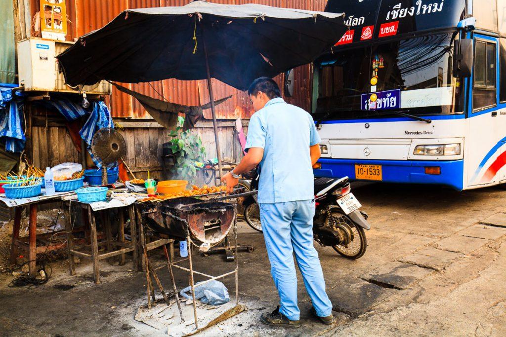 Street von in Old Sukhothai