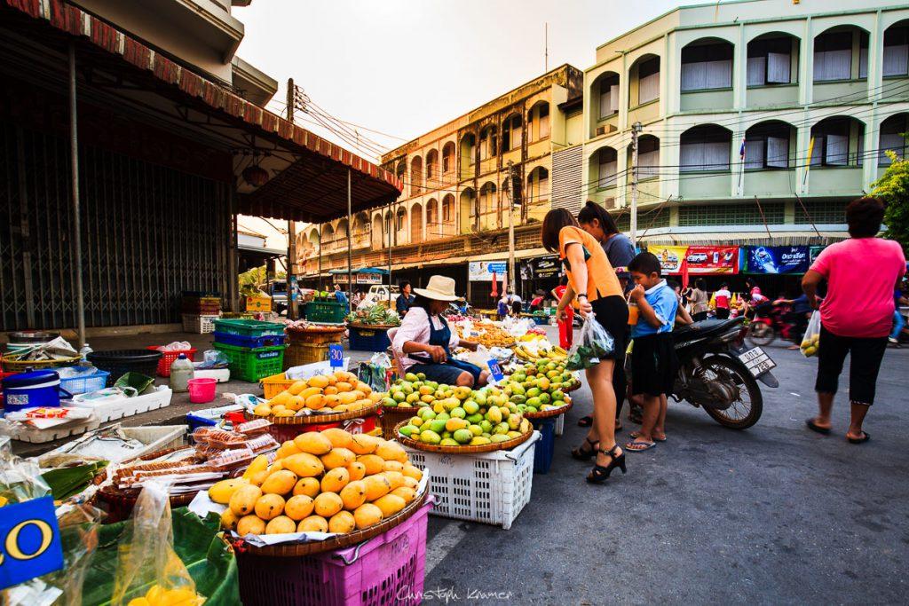 Markt in Sukhothai