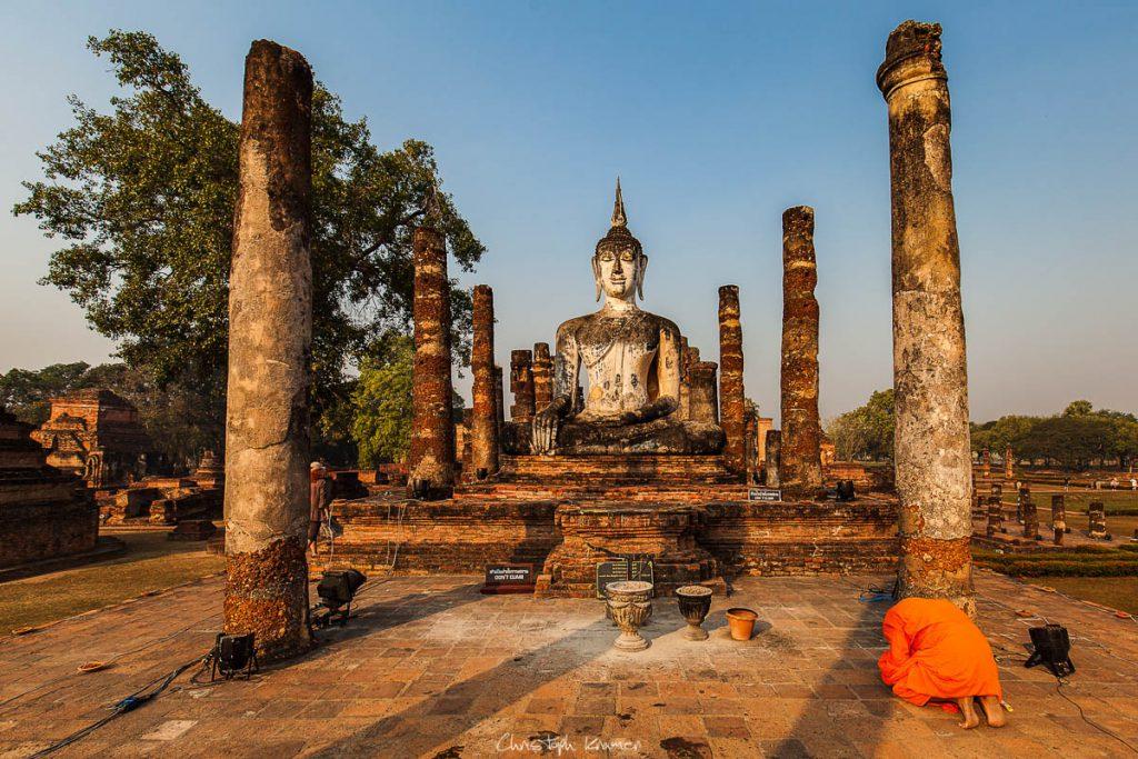 Tempel von Old Sukhothai