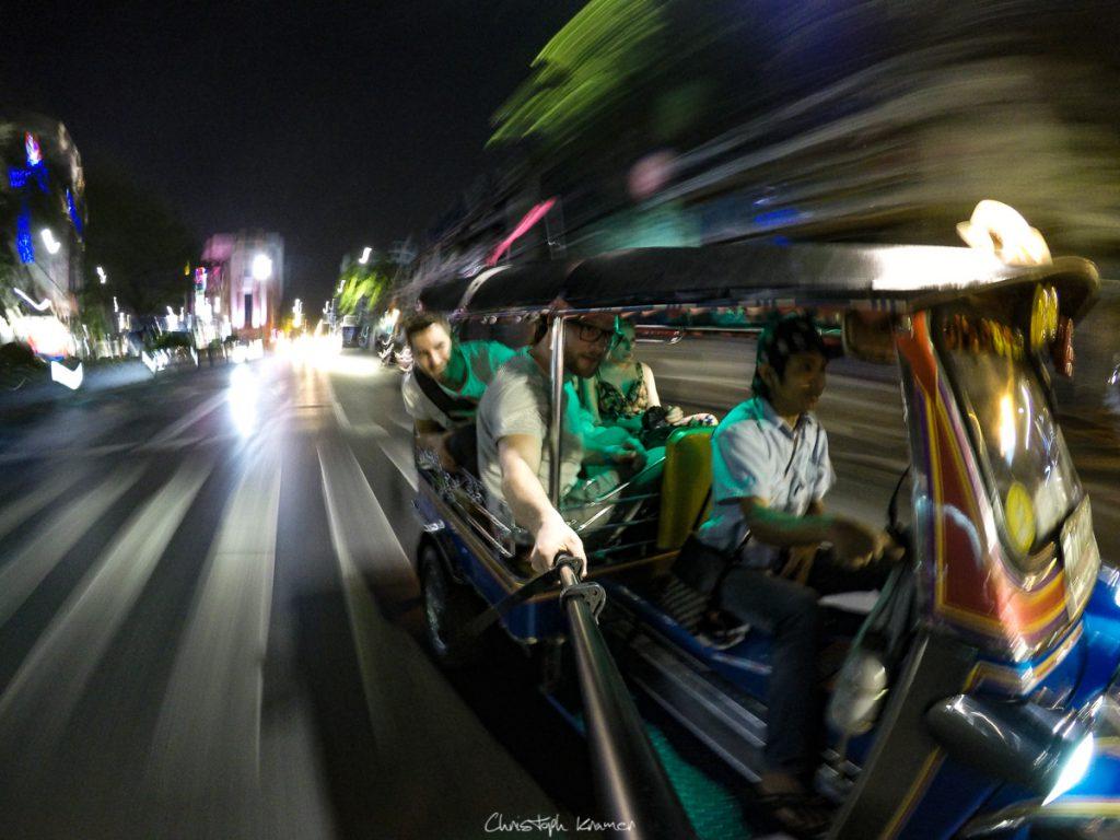 Tuk Tuk Ride nach China Town