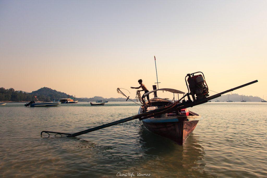Fischer auf Koh Phayam