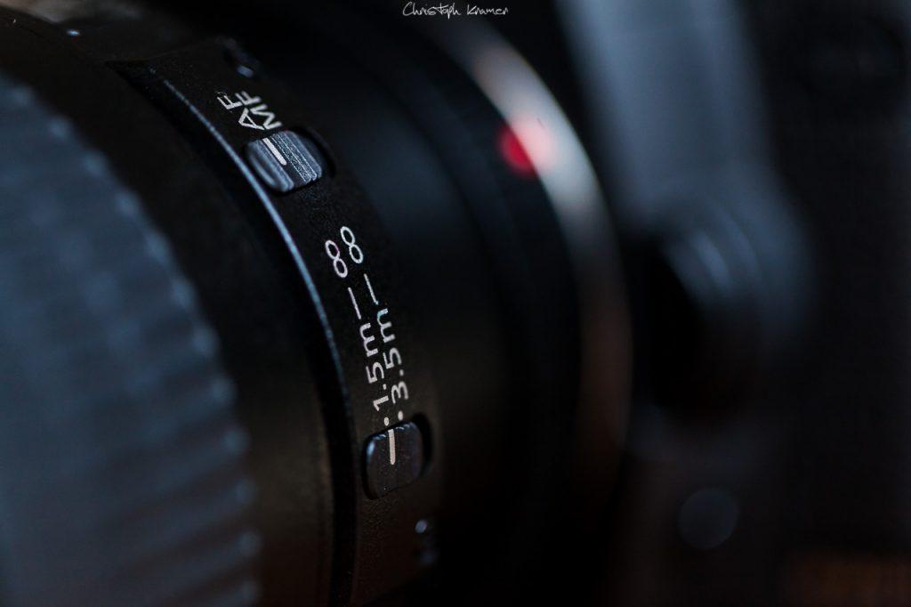 Fokus Einstellung Canon EF 200mm f/2.8L II USM