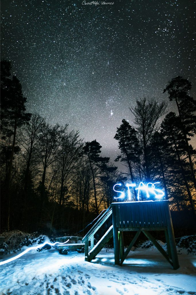 Sternenhimmel im Spessart