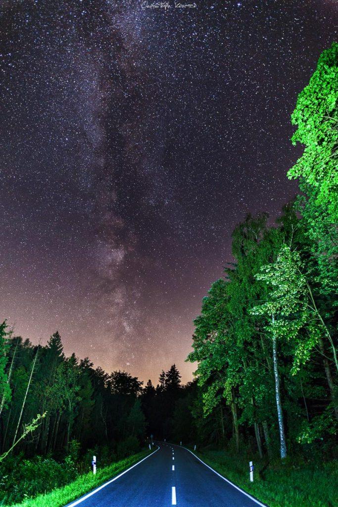 Milchstraße im Spessart