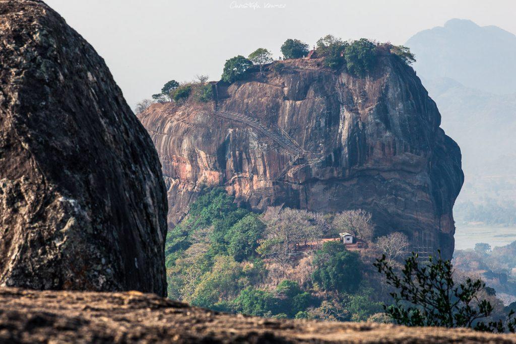 Aussicht auf Sigiriya - Blende f10