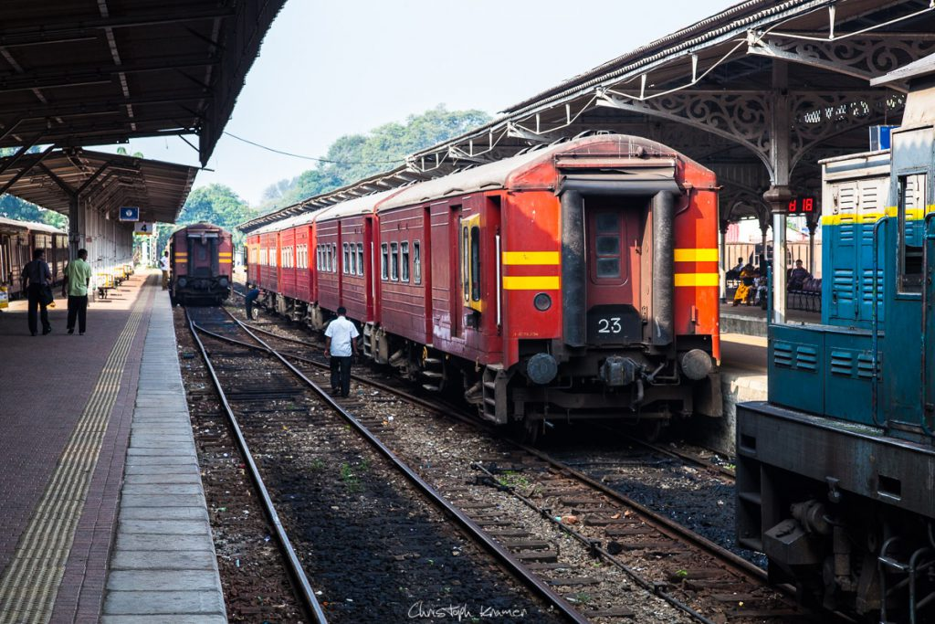 Bahnhof in Kandy