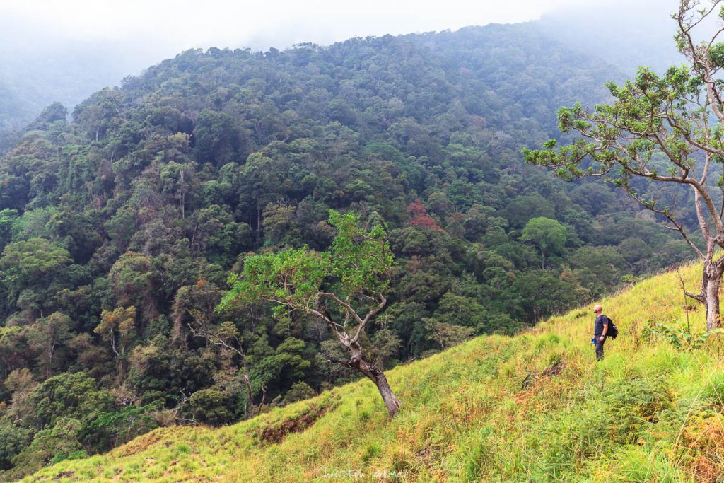 Auf dem Weg zum Lanka Fall