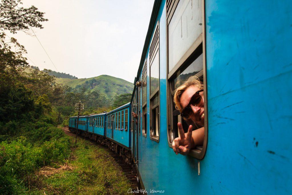 Mit dem Zug ins Hochland