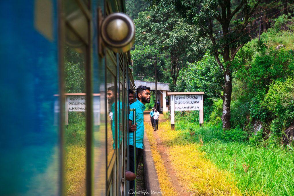 Zugfahrt ins Hochland