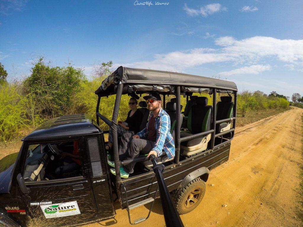 Safari Jeep in Udawalawe