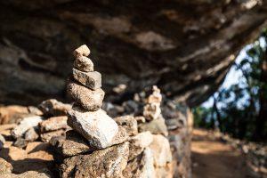Aufstieg auf den Pidurangala Rock