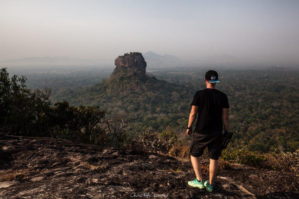 Blick auf Sigirya
