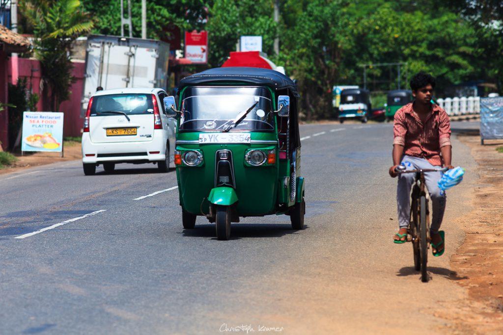 Verkehrsmittel auf Sri Lanka - Three Wheeler