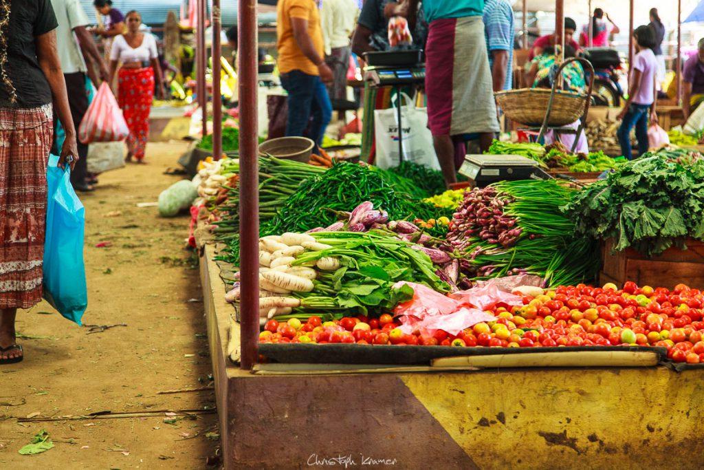 Wochenmarkt in Tangalle