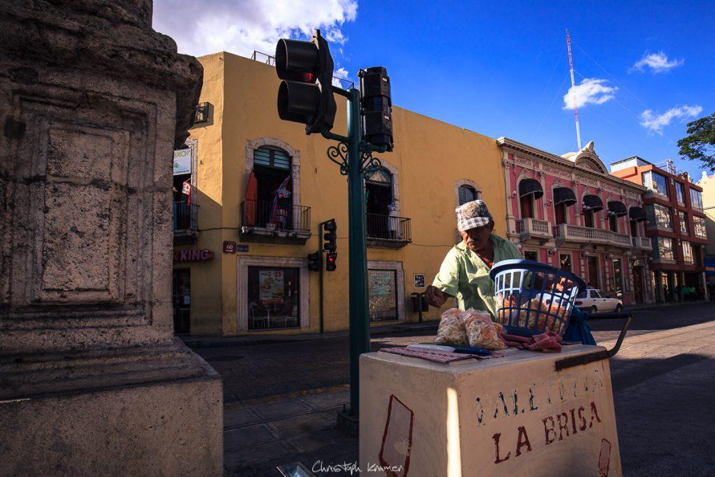 Eisverkäufer in Merida