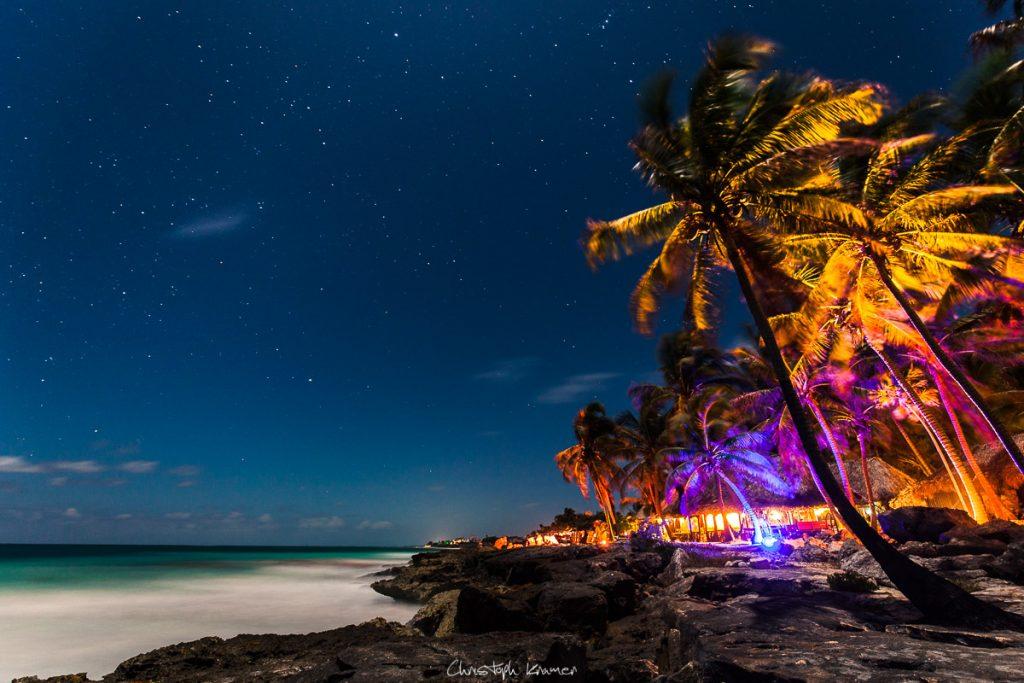 Der Golf von Mexiko bei Nacht