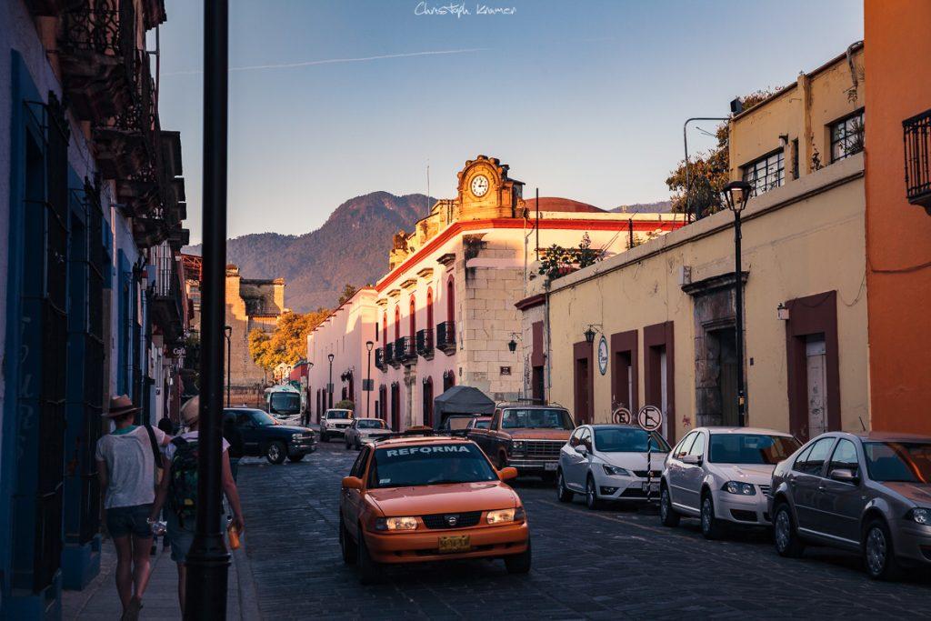 Im Zentrum von Oaxaca