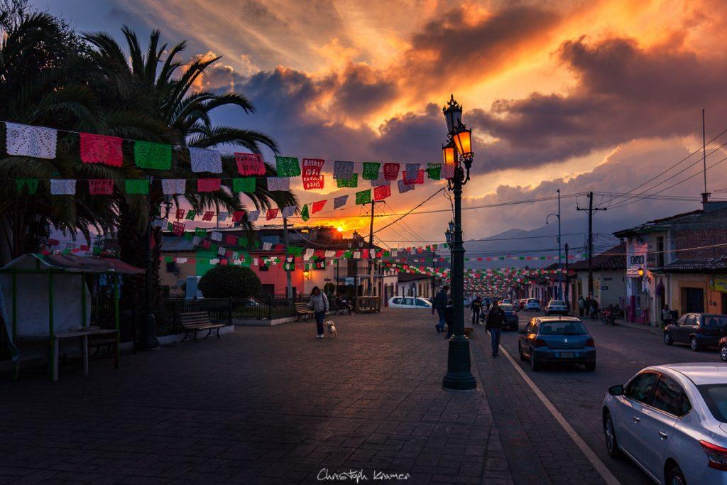 Auf dem Weg zum Cerro de Guadalupe