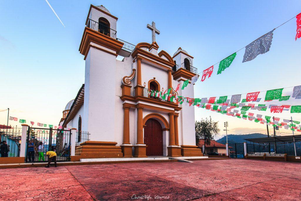 Kirche auf dem Cerro del Guadalupe