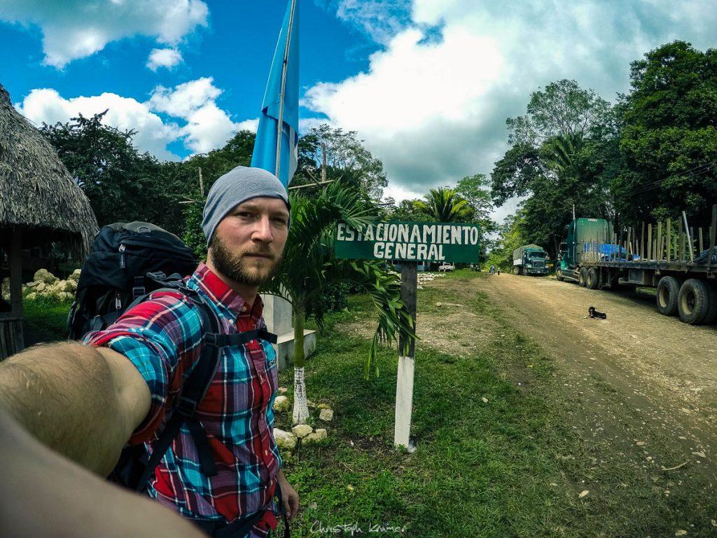Die ersten Schritte auf guatemalischen Boden