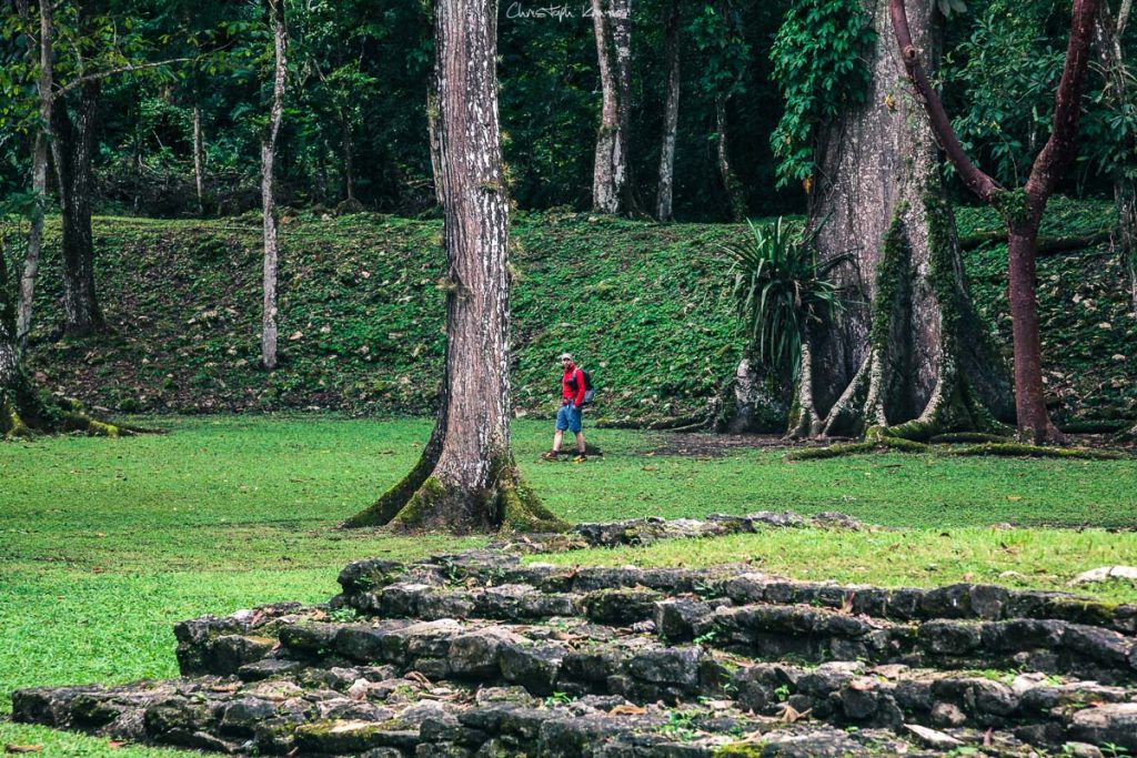 Mitten im Dschungel, die Tempel von Yaxchilan