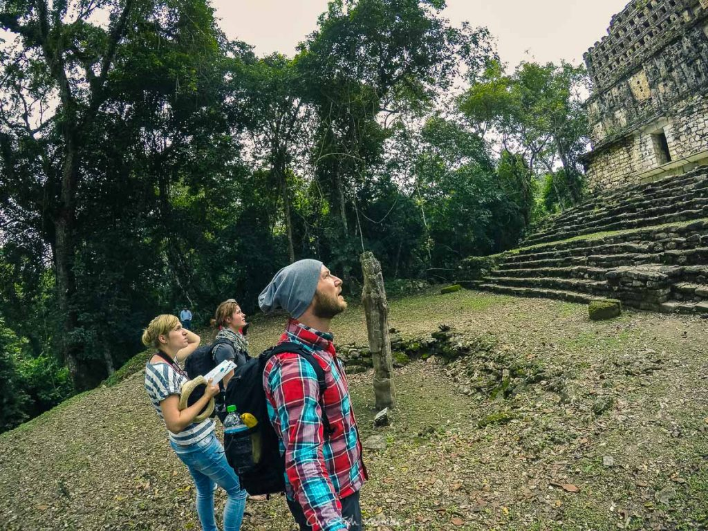 Die Tempel von Yaxchilan