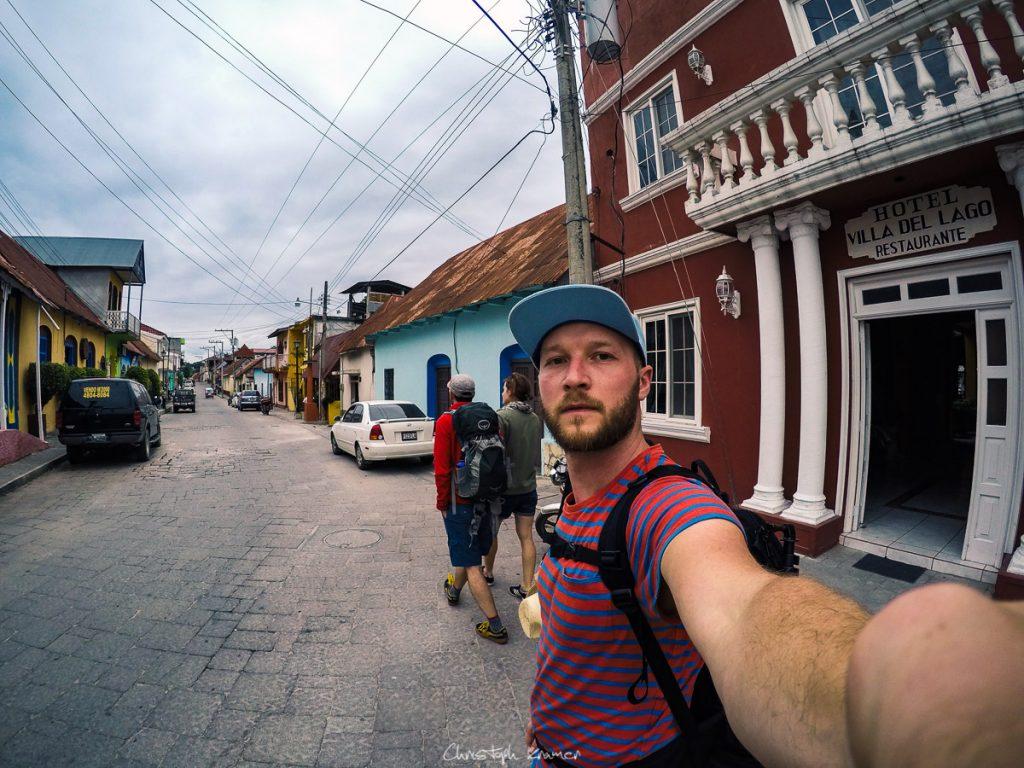 In den Straßen von Flores