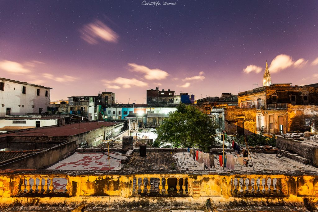 Über den Dächer von Havanna