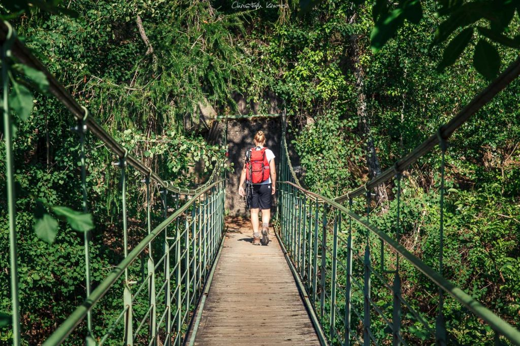 Hängebrücke von Partschins