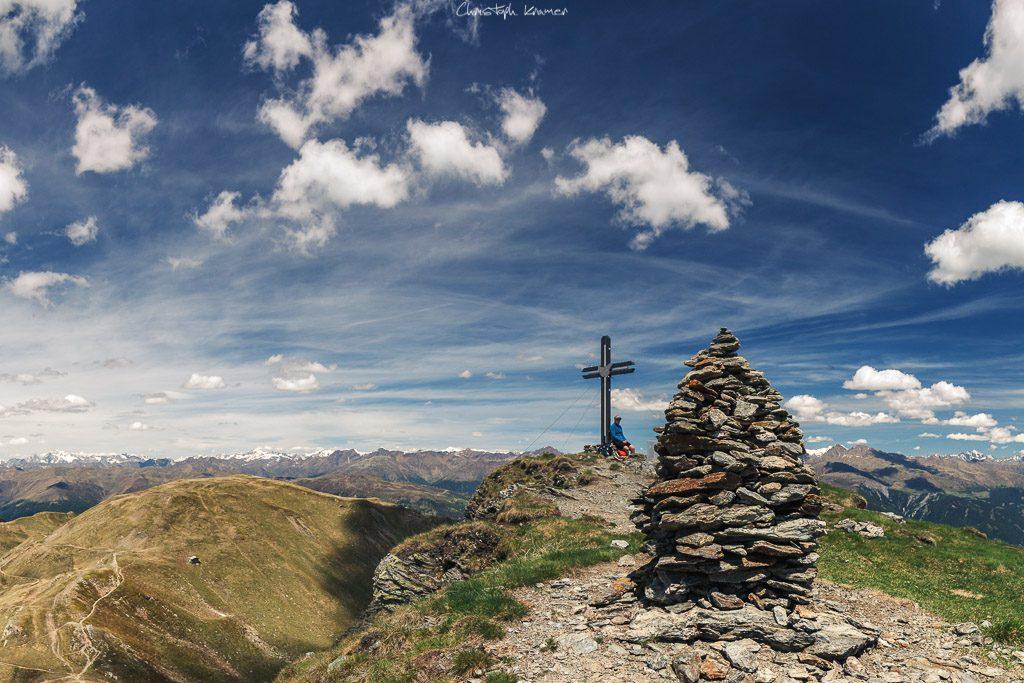 Auf dem Gipfel des Hornischeggs