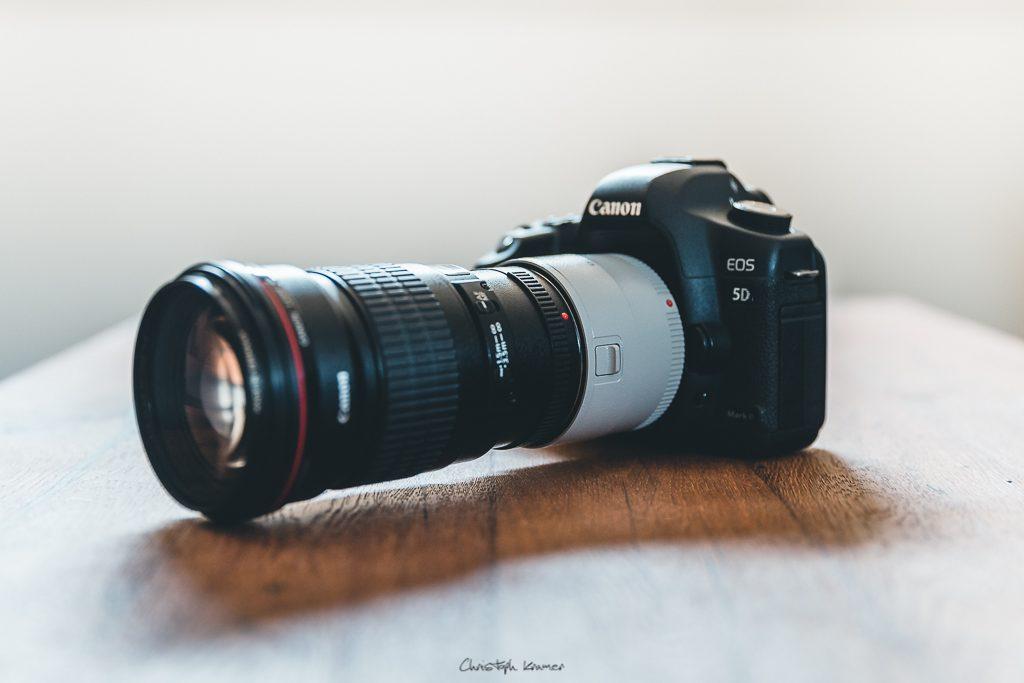 Canon 2x Extender III + EF 200mm f2,8L an der 5D Mark2