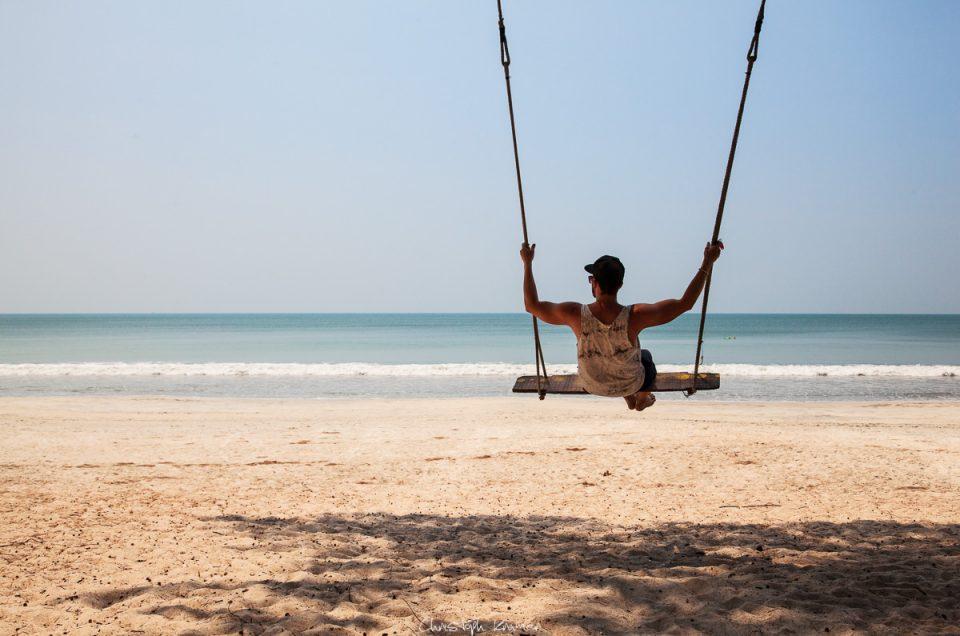 Am Strand von Koh Phayam