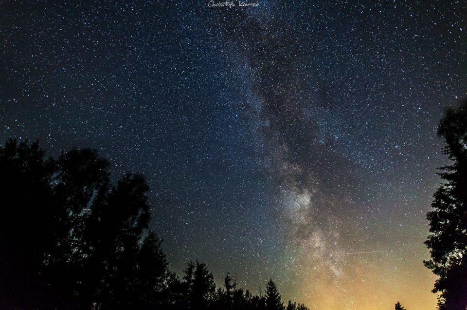 Milchstraße fotografieren im Spessart