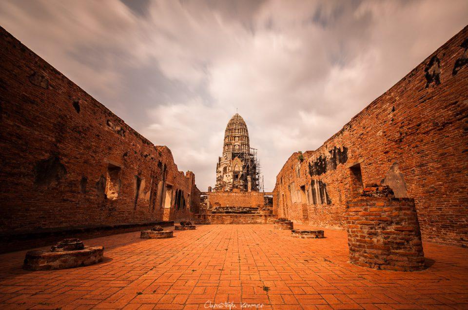 EineBootstour zu den Tempel von Ayuthaya