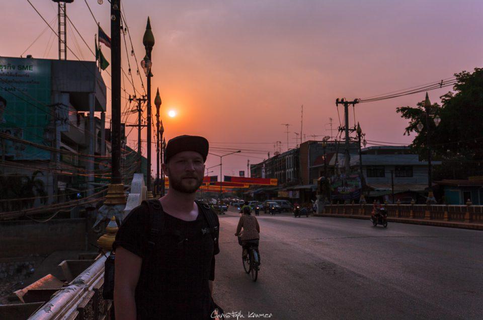 Mit dem Fahrrad durch Sukhothai