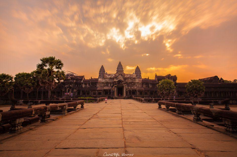 Siem Reap und das atemberaubende Areal von Angkor Wat