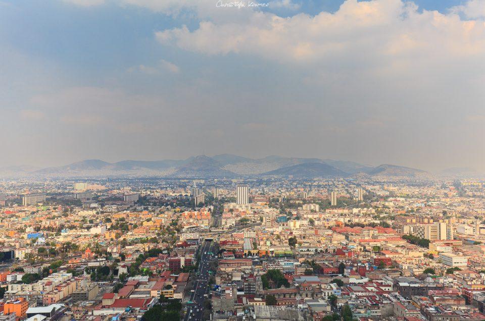 Mexiko City und die Mariposa Monarca Schmetterlinge