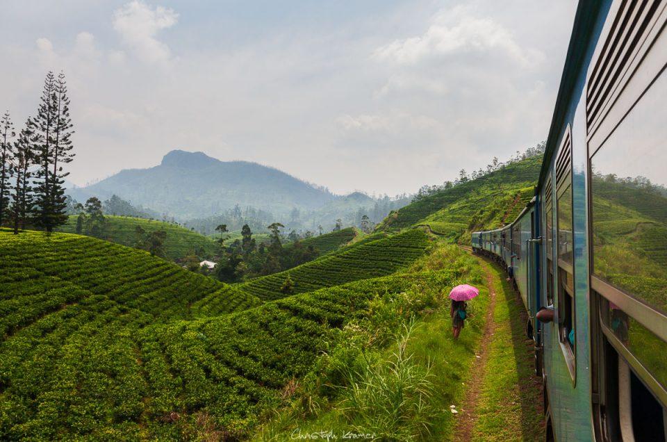 Mit dem Zug ins Hochland nach Haputale
