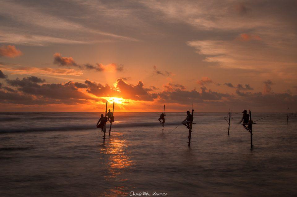 Surfspot Mirissa und die Stelzenfischer von Ahangama