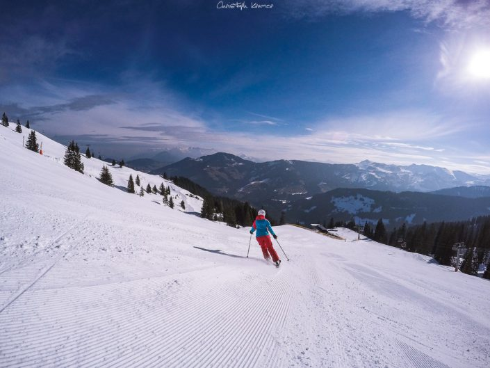 Skifahren auf dem Schatzberg