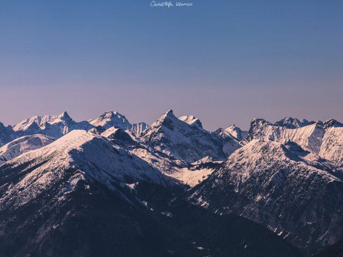 Die Kitzbühler Alpen in Tirol