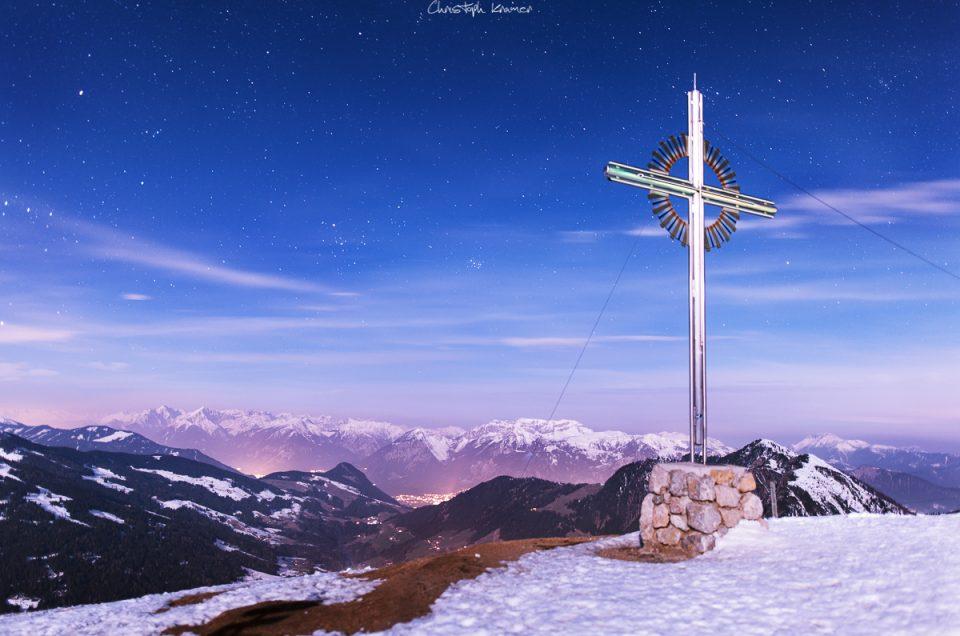 Skifahren auf dem Schatzberg in Tirol
