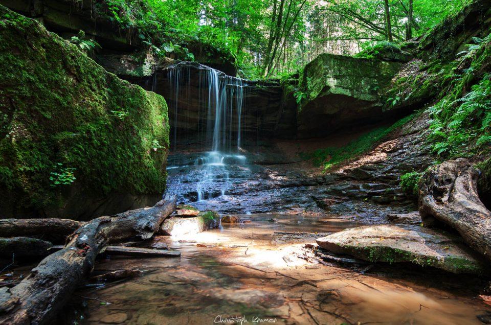 Wasserfall im Spessart