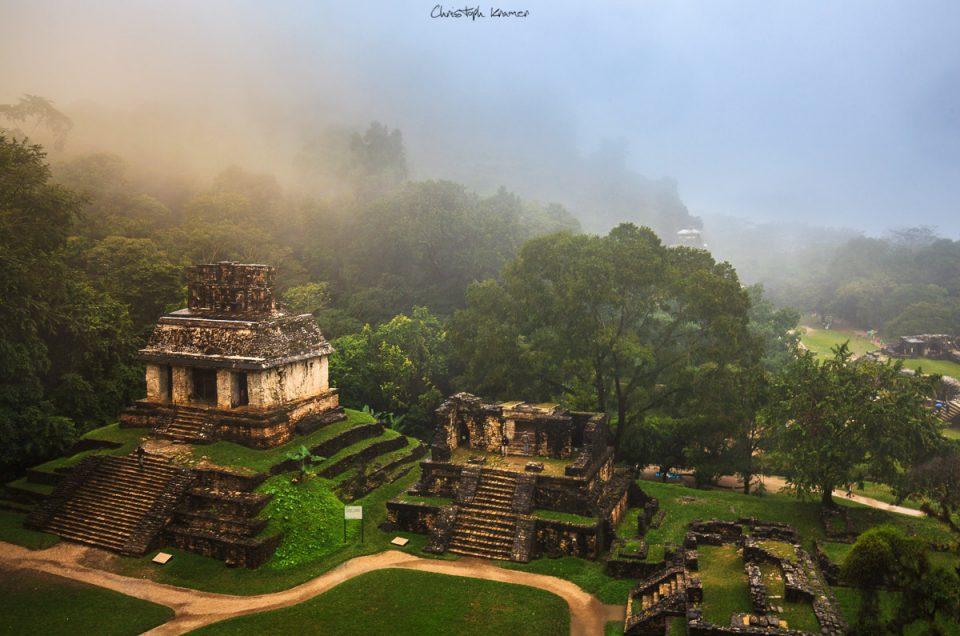 Palenque und die Maya Pyramiden