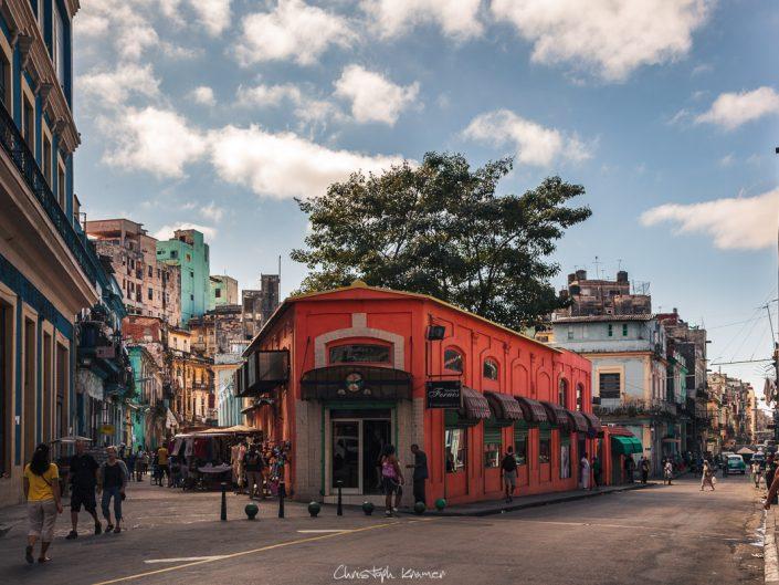 in den Straßen von Havanna
