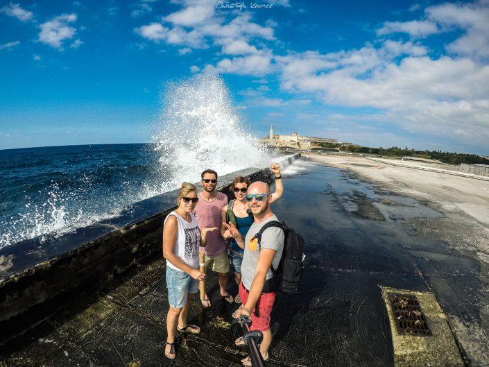 An der Küste von Havanna