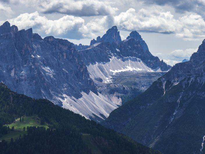 Ausblick auf die Sextner Dolomiten