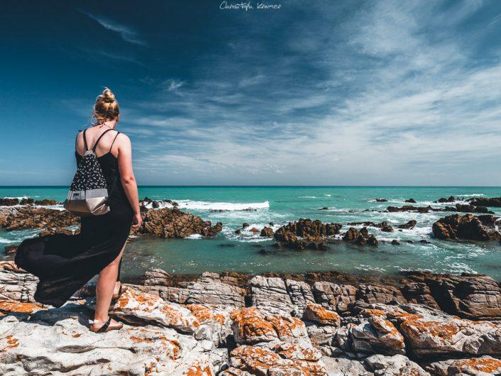 Aussicht vom Cape Agulhas