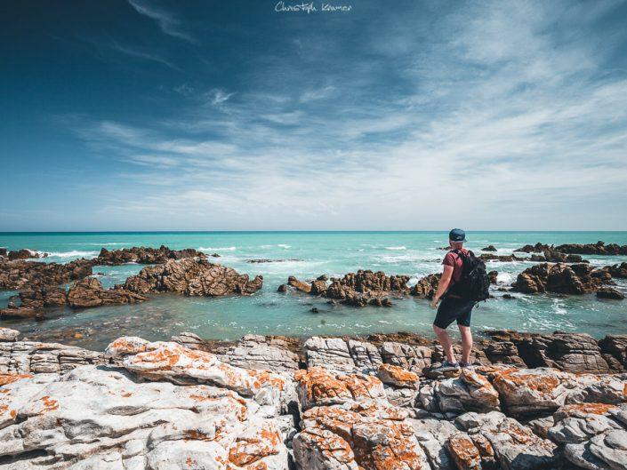 Ausicht vom Cape Agulhas